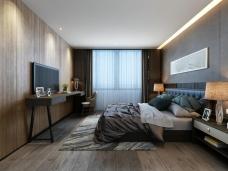 江油家装现代风格卧室